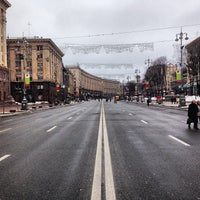 รูปภาพถ่ายที่ Вулиця Хрещатик / Khreshchatyk Street โดย Alexander L. เมื่อ 1/20/2013