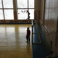 Photo taken at Палац Спорту by Ruslan I. on 3/9/2013
