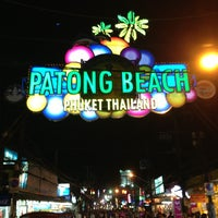 Photo taken at Patong Beach by Boyoung K. on 7/16/2013