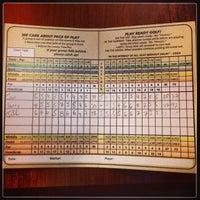 Photo taken at Big Met Golf Course by Jon K. on 11/1/2013