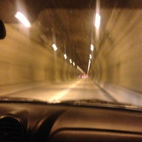 Photo taken at Pittsburgh Tunnel by Michelle S. on 12/31/2012