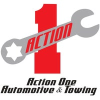 Photo taken at Action One Automotive & Towing by Action One Automotive & Towing on 6/25/2015