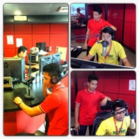 Photo taken at Hot FM Regional Studio Kelantan by Abe Piey on 5/31/2013
