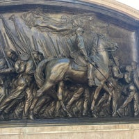 Photo taken at Robert Gould Shaw Memorial by Joseph M. on 10/2/2017