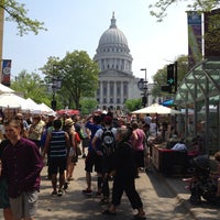 Photo taken at Dane County Farmers' Market by Patrick F. on 5/18/2013
