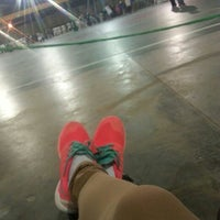 Photo taken at Polideportivo CEP by Isaura D. on 7/8/2016