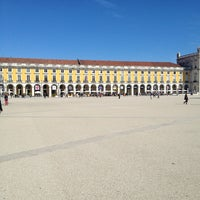 Photo taken at Praça do Comércio (Terreiro do Paço) by Marcos P. on 3/14/2013