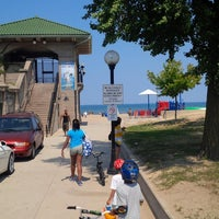 Photo taken at 63rd Street Beach by Keith H. on 8/25/2013