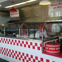 Photo taken at Five Guys by Keith H. on 1/26/2014