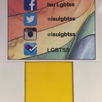 Photo taken at LGBT Student Services by BJ F. on 2/2/2015