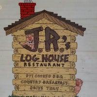 Photo taken at JR's Log House Restaurant by John G. on 10/3/2015