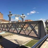 Photo taken at Puente de los Alemanes by Vivek A. on 5/14/2016