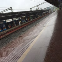 Photo taken at Thrissur Railway Station by Vivek A. on 7/4/2016