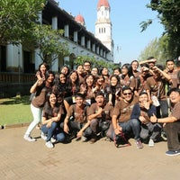 Photo taken at Lawang Sewu by Mike D. on 5/14/2017