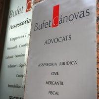 Photo taken at Bufet Cánovas by Gonzalo C. on 3/27/2013