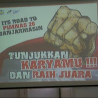 Photo taken at Ruang Auditorium Pascasarjana ITS by Davyan I. on 12/21/2012
