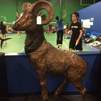 Photo taken at ClearOne Badminton Club by Emma on 7/22/2015