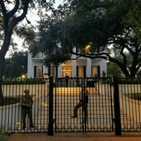 Photo taken at Texas Governor's Mansion by Steven M. on 10/11/2016