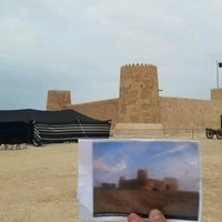 Photo taken at Al-Zubara Castle by Steven M. on 11/27/2016
