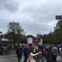 Photo taken at München Marathon by Josaku on 10/8/2017