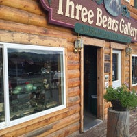 Photo taken at Three Bears Gallery by Cliff C. on 7/8/2016