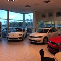Photo taken at Fields Volkswagen by Jason S. on 3/28/2014
