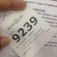 Photo taken at Bank Islam (M) Bhd by Nurul F. on 12/16/2016