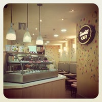 Photo taken at Sanrio Café by Juliana P. on 2/16/2013
