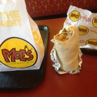 Photo taken at Moe's Southwest Grill by Anthony A. on 9/17/2012
