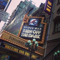 Photo taken at Spider-Man: Turn Off The Dark at the Foxwoods Theatre by Anthony A. on 2/17/2013
