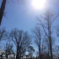 Photo taken at Memorial Park Playground by Matthew A. on 4/20/2014