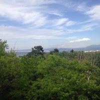 Photo taken at Sun Beach Hotel Thessaloniki by Duygu İ. on 4/23/2016