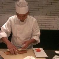 Photo taken at Sushi Nakazawa by Krystal Y. on 9/1/2013