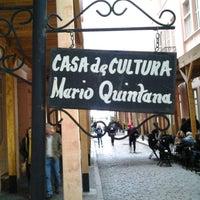 Photo taken at Casa de Cultura Mario Quintana by Fabiano T. on 7/20/2013