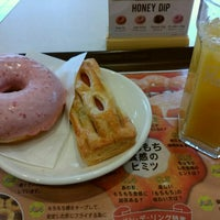 Photo taken at Mister Donut by K. F. on 4/16/2016
