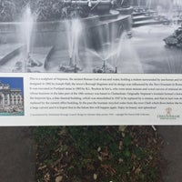 Photo taken at Neptune's Fountain by Leach E. on 6/11/2017