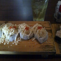 Photo taken at Takarajima Sushi by Eka K. on 5/14/2014