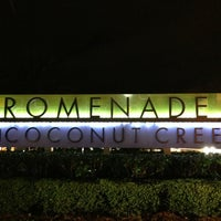 Photo taken at Promenade at Coconut Creek by Umut E. on 2/15/2013