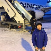 Photo taken at Finnair Airbus A319 by Mikko L. on 3/2/2016