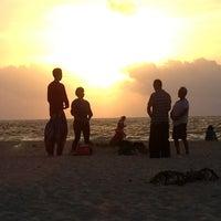 Photo taken at Playa Xaman-Ha by Charles F. on 4/9/2013
