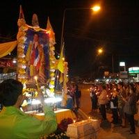 Photo taken at ตลาดทุ่งสมอ by Sharkrit Jobbo I. on 12/5/2013