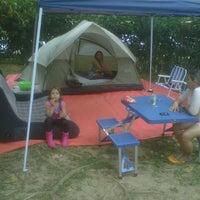 Photo taken at Camping Alta da Serra by Alexandre G. on 10/13/2012
