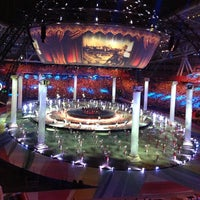 Photo taken at Kazan-Arena by Dana V. on 7/6/2013