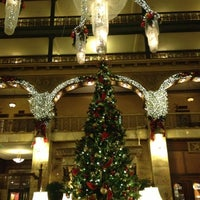 Photo taken at The Brown Palace Hotel and Spa by Megan P. on 12/7/2012