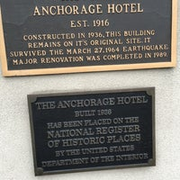 Photo taken at Historic Anchorage Hotel by John C. on 8/18/2016