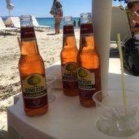 Photo taken at Almyra Beach Bar by Burcu B. on 7/28/2017