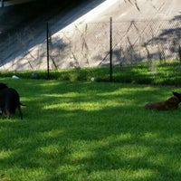Photo taken at kenwood dog park by Michelle M. on 5/9/2015