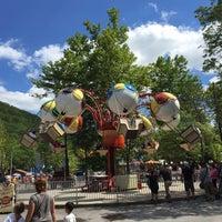 Photo taken at Knobels Amusement Park by Abi B. on 8/28/2015