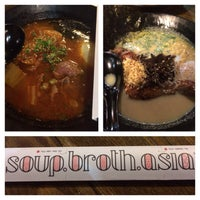 Photo taken at Soup Broth Asia by Keith M. on 2/13/2014