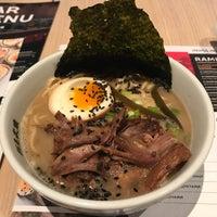 Снимок сделан в Menya Musashi пользователем Katie S. 2/3/2018